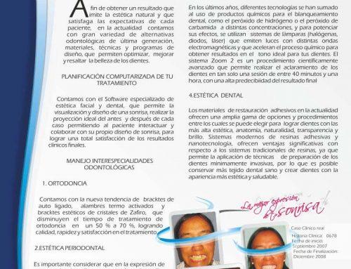 Odontología de alta Calidad y tecnología a su servicio